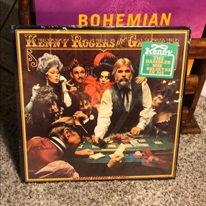 "Vintage Kenny Rogers ""The Gambler"" Album"